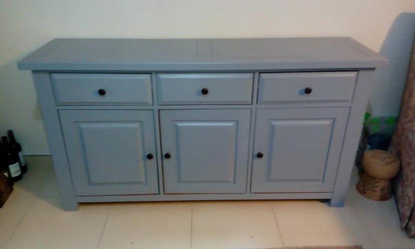 Furniture polishing