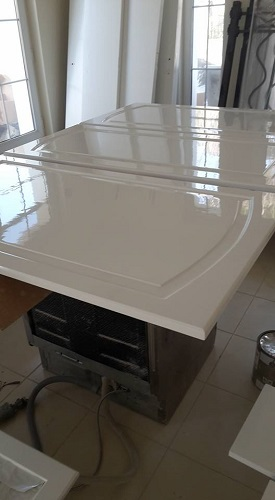 Furniture polishing