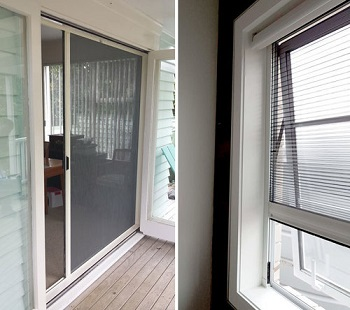Flyscreen installation -Windows and doors